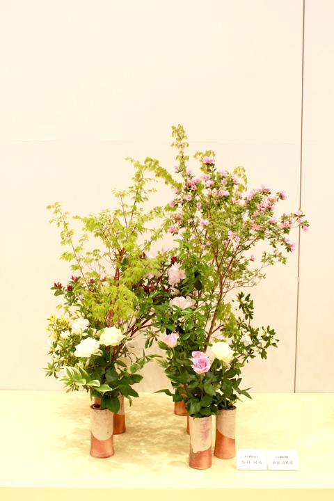 兵庫県いけばな協会創立60周年記念 いけばな神戸展 1